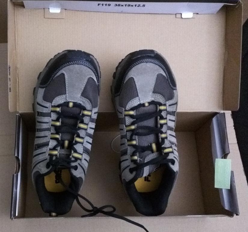 Unboxing the FILA Men's TRAIL Shoes